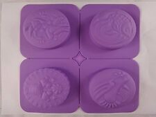 Flower Doves Fish Silicone Soap Mold Candle Making for Homemade