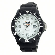 Ice-Watch Ice-White + Black Strap Big Silicone Watch SI.BW.B.S 10 - RRP £85