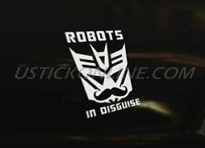 DECEPTICON DISGUISE Car Decal Graphic Sticker Euro DUB JDM Drift Funny Race VAG