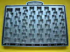 VINTAGE 1940'S STEEL STRONG DOWNEY CHANGE TRAY - NEW OLD STOCK