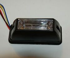 850 Red And Blue LED Emergency Strobe Construction Lightbar flashing R/B