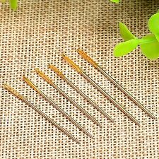 6pcs Large Gold Eye Needles Leather Craft Tools Embroidery Hand Sewing Needle