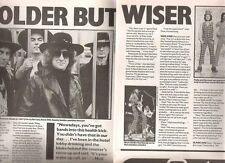 SLADE 'Holder but wise' 1991 2 page  UK ARTICLE / clipping