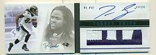 Torrey Smith 2011 Panini Playbook ON CARD RC Auto/Patch #/25 Ravens FREE SHIP