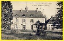 cpa 36 - ARGENTON sur CREUSE (Indre) CHÂTEAU de PAUMULLE Née De Merbitz