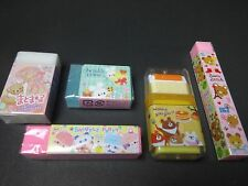 Very Cute Kawaii Eraser 5 Set  Vol.2 Stationery FROM Japan