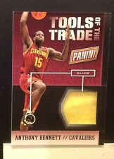 Tools of the trade Shoe Anthony Bennett #9 Cavs 2014 2013/14 Panini National
