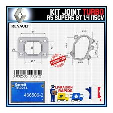 Joints Turbo 1.4 115 Cv Renault R5 Super5 GT  Garrett TB0214 466506-2