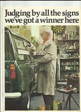 FORD Escort 6 CWT et de luxe 8 CWT Vans brochure 1969