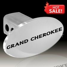 """JEEP GRAND CHEROKEE Oval Tow Plug 2"""" Trailer Receiver Hitch Cover OEM"""