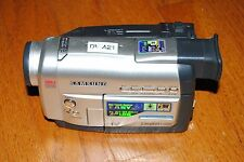 SAMSUNG VIDEO CAMERA CAMCORDER RECORDER DIGITAL CAM STORE  SCD67 FOR PARTS ONLY