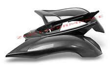 NEW YAMAHA RAPTOR 700 06 - 16 BLACK CARBON FIBER PLASTIC REAR FENDER PLASTICS