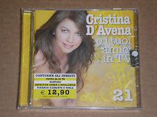 CRISTINA D'AVENA E I TUOI AMICI IN TV VOL. 21 - CD SIGILLATO (SEALED)