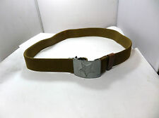 GENUINE RUSSIAN SOVIET ARMY PARADE BELT WITH HAMMER & SICKLE BUCKLE.