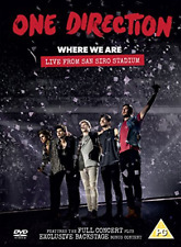 One Direction: Where We Are - Live from San Siro Stadium  DVD NEW