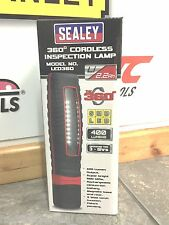 Sealey LED360 Rechargeable Inspection Lamp LED Cordless 360° Brand New