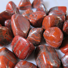 Red Tiger Iron Tumbled Stone Large QTY 1 PIECE Healing Crystal Energy Stamina