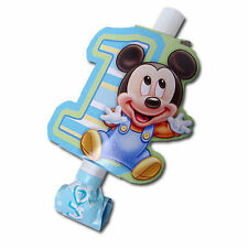 Mickey Mouse Baby 1st Birthday Party Disney Blowouts 8 ct