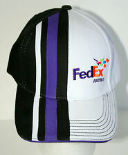 Fed Ex Auto Racing Team Car NASCAR NHRA Baseball Cap Hat Purple Stripe New OSFM