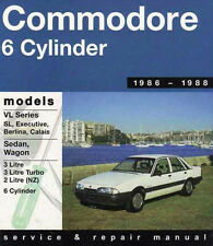 Holden Commodore VL 3L RB30 TURBO Gregorys Service & Repair Workshop Manual #238
