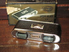 Vintage Stellar sports glass 3x binoculars with box