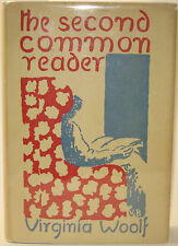 VIRGINIA WOOLF 1ST AMER EDITION NEAR FINE The Second Common Reader NF DJ 1932