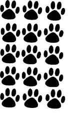 15 Paw Print adesivi qualsiasi colore per la tua auto o Muro-gatto o cane