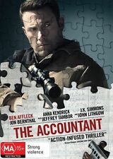 The Accountant NEW R4 DVD