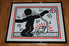Keith Haring Untitled Free South Africa 1 Silkscreen Print Signed Numbered Art