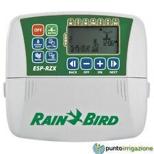 Programmatore centralina RainBird ESP RZX 6 STAZIONI zone montaggio interno
