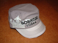 "SOBIESKI VODKA Baseball Cap Hat, NEW ""worn look"""