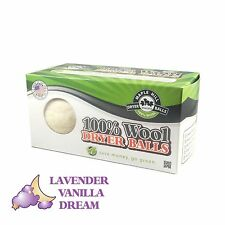 Maple Hill Dryer Balls set of 2 Lavender Vanilla Dream Scent Wool Dryer Balls