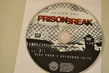 Prison Break First Season 1 Disc 4 Replacement DVD Disc Only*