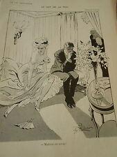 Le Mot de la Faim Madame est servie ! Print Art Déco 1908