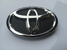 2010 & 2011 TOYOTA CAMRY FRONT HOOD GRILL BLACK & CHROME EMBLEM 75311-06100