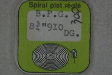 Hairspring balance BFG 910 DGT Spirale bilanciere