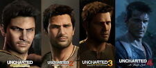 """011 Uncharted 4 - A Thiefs End Thief s Vedio Game 32""""x14"""" Poster"""