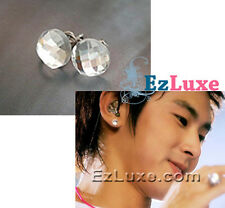 TOHOSHINKI DBSK TVXQ U-know Yunho Crystal 8 mm Earrings