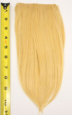 10'' Long Clip on Bangs Butterscotch Blonde Cosplay Wig Hair Extension NEW