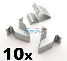 10x Metal Trim Clip Pannello per VW, 16mm LUNGHEZZA. Boot & PORTELLONE Rivestimento Interno