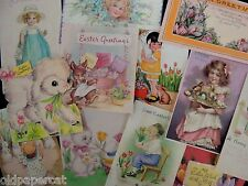 Lot of 12 VICTORIAN & VINTAGE EASTER CARD Die Cuts for Cards | SHIPS FREE | E21