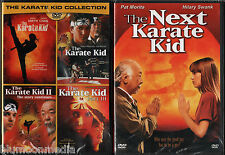 Karate Kid DVD 1 2 3 4 & Remake Lot 5 Movie Set Complete Collection Brand NEW