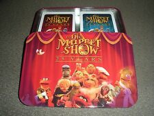 The Muppet Show 25th Anniversary Playing Cards collector's tin w/ 2 decks