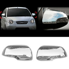 Chrome Side Mirror Cover Garnish Molding For KIA 2008 2009 2010 Picanto /Morning