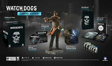 NEW Watch Dogs Limited Edition  (Sony PlayStation 4, 2013)