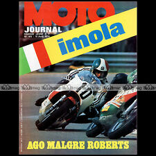 MOTO JOURNAL N°165 HUSQVARNA 500 CROSS GP FANTIC 50 CABALLERO KENNY ROBERTS '74