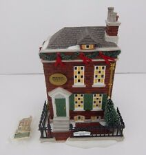 Dept 56 Dickens Village Dickens Birthplace #58710 Good Condition Has light cord