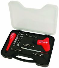 Wiha 28291 Topra Ratchet, Socket and Bit Set, 57-Piece