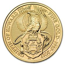 2017 Great Britain 1 oz Gold Queen's Beasts (The Griffin) - SKU #115848