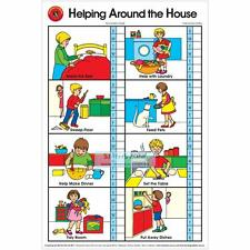 Early Learning Helping Around The House Poster